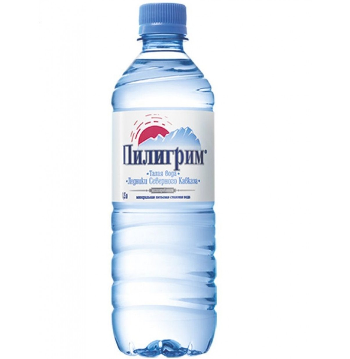 Вода мин  ПИЛИГРИМ 0.5л  НЕ ГАЗ пласт. 12шт (уп)