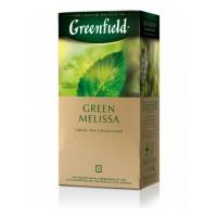 Чай Гринфилд пак 25 шт Мелисса