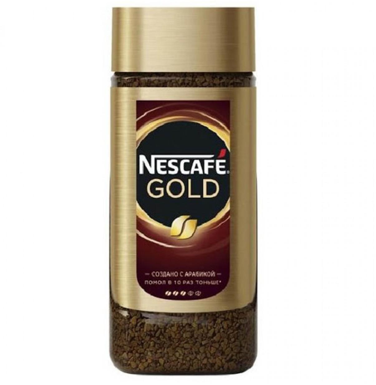 Кофе «Nescafe Gold» стекло 95 г.