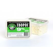Творог мдж 9% (за 1 ед. товара, 350 гр)