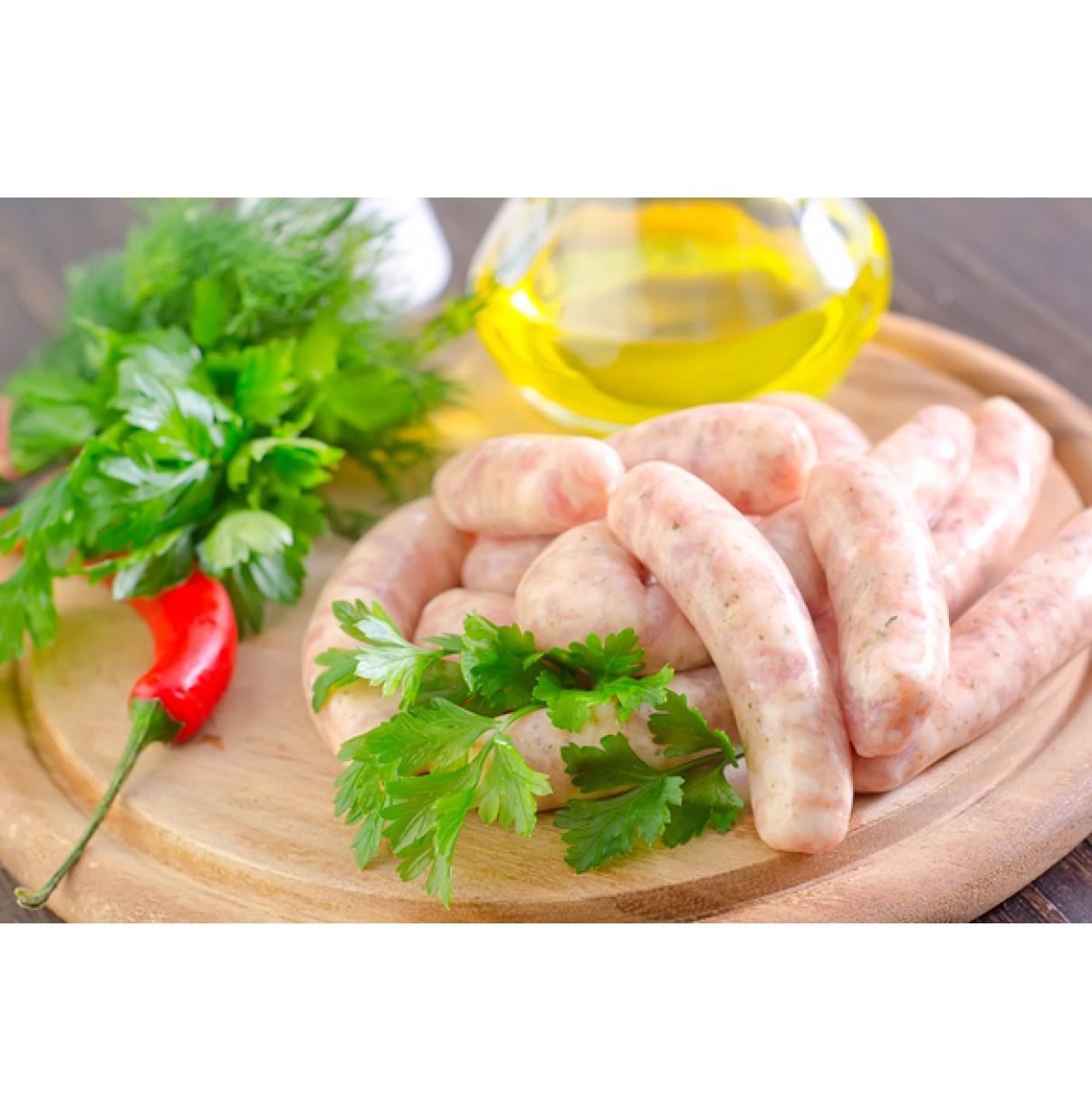 Куриная домашняя колбаса (за 1 кг)
