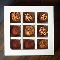 Конфеты (9 штук, 3 вкуса- белая упаковка)