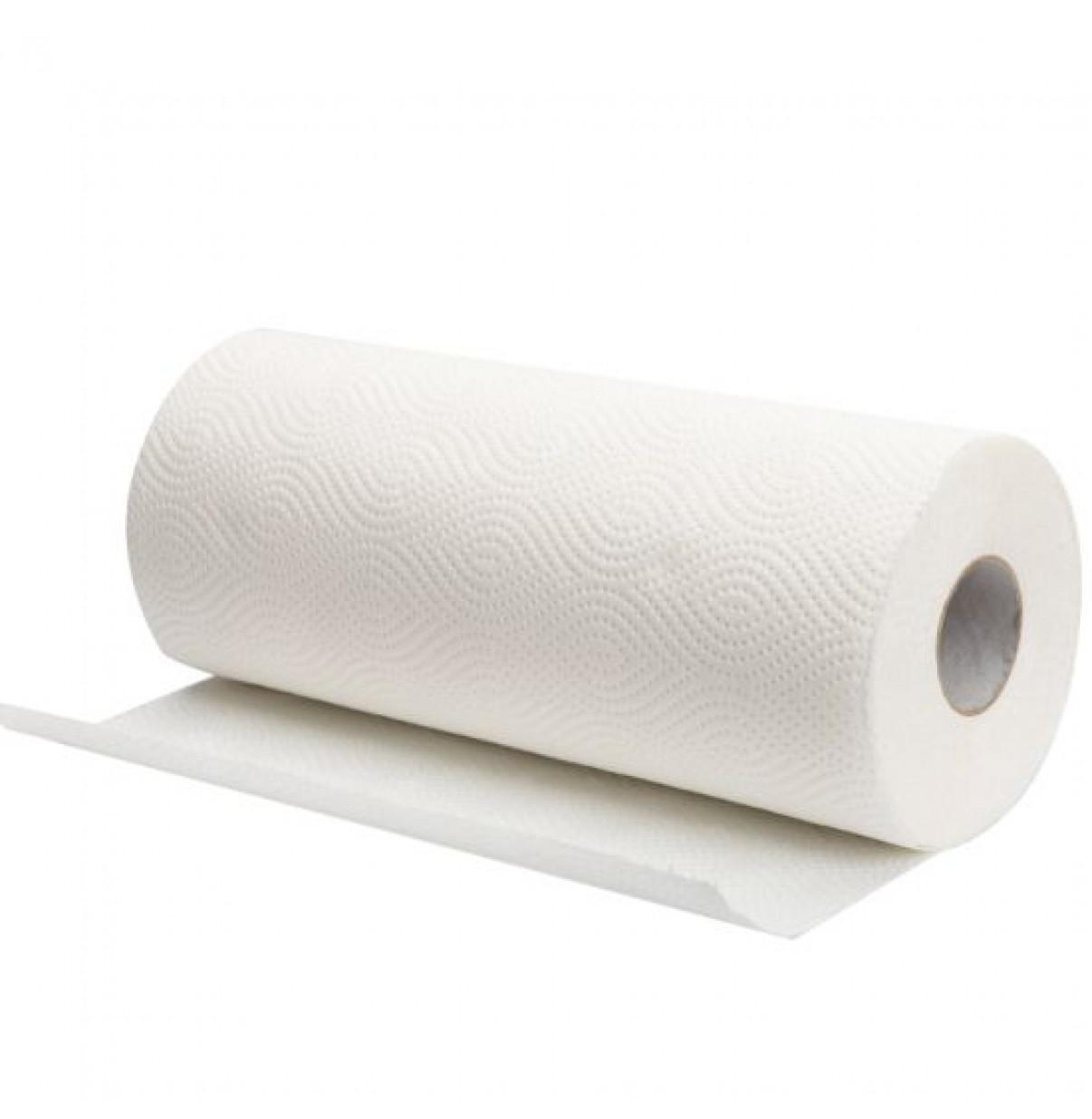 Бумажные полотенца рулонные(2 рулона в 1 упаковке)