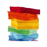 Салфетки цветные (бордо) (50 листов в 1 упаковке)