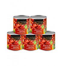 Фасоль красная в томате ,400 гр (за 1 банку)