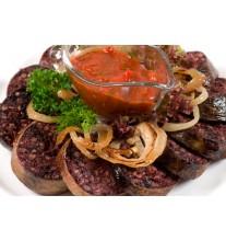 Домашняя кровяная колбаса (за 1 кг)