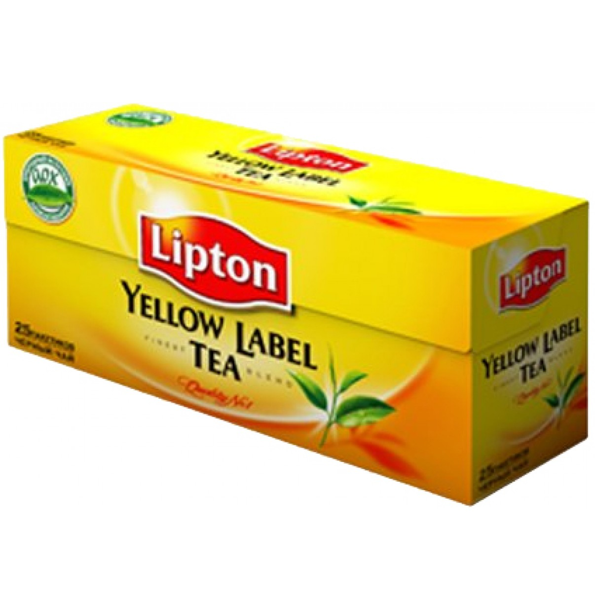 Чай Липтон пак черн. 25 шт