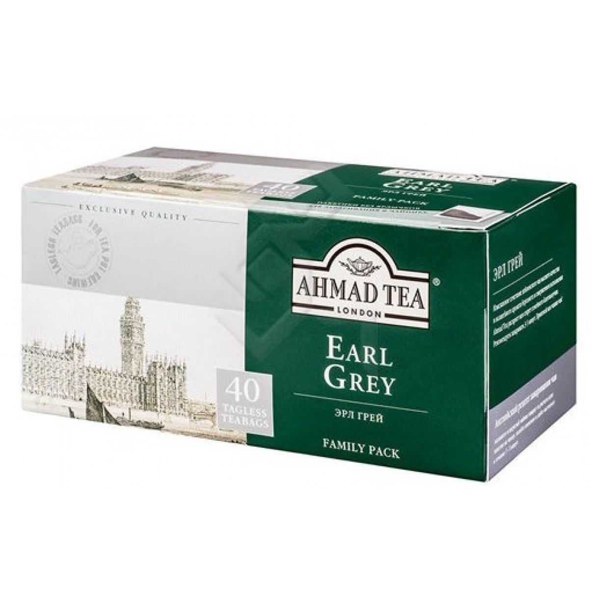 Чай Ахмад ЭрлГрей  40 пак