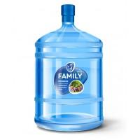 """FAMILY SPRING  """"Премиум"""" обогащенная Са, Mg, K, йодом и фтором 18,9 л"""
