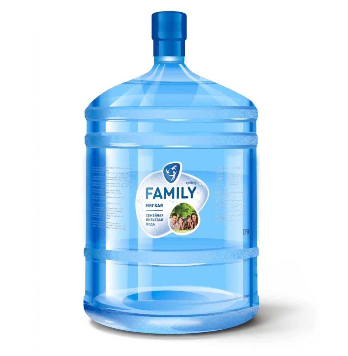FAMILY SPRING мягкая, негазированная  18,9 л